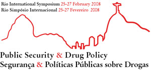 Rio International Symposium logo by Chris Freeman.